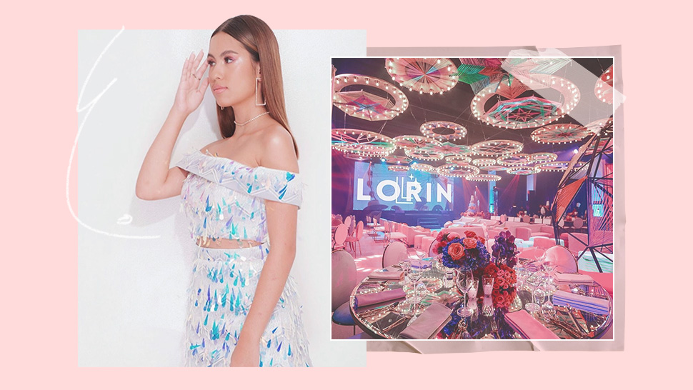 Lorin Gutierrez Looked Every Bit the Teenage Dream at Her 16th Birthday Party