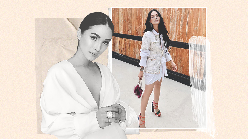 These Are the White Pieces You Need in Your Closet, Says Heart Evangelista