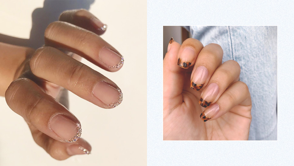 French Tip Manicure Is Popular Again And Here Are New Ways To Do It