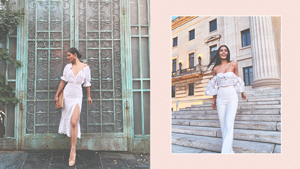 Lovi Poe Will Make You Want To Wear All-white To Your Next Vacation