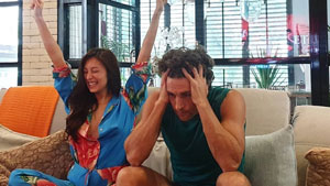 Nico Bolzico Has The Funniest Post After Discovering Their Baby's Gender
