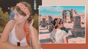 Head Scarves Are The Lazy-girl Hair Accessory Celebs Are Loving Right Now