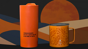 These Orange Starbucks Tumblers Will Remind You Of Sunsets