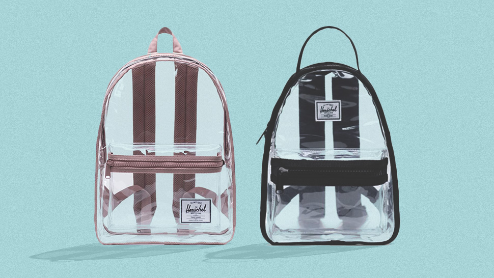We're Obsessed with Herschel's New Retro-Cute Transparent Backpacks