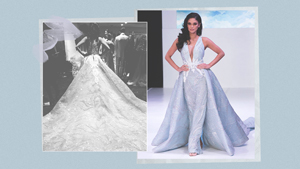 Pia Wurtzbach Stunned In An Albert Andrada Gown At New York Fashion Week