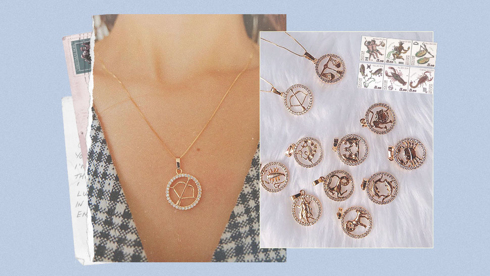 These Are The Cool Zodiac-themed Necklaces You Need In Your Next Ootd