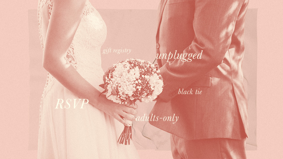 12 Important Terms Every Wedding Guest Needs to Know