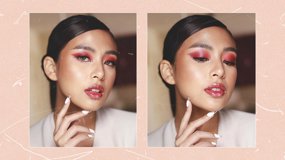 We're In Love With Gabbi Garcia's Monochromatic Berry Makeup Look