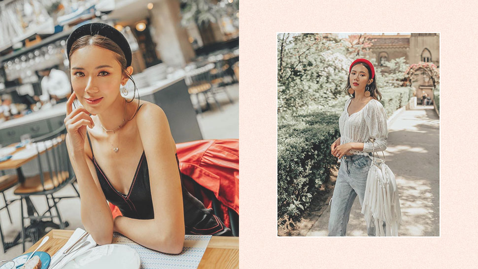 5 Times Camille Co Convinced Us to Finally Try the Padded Headband Trend