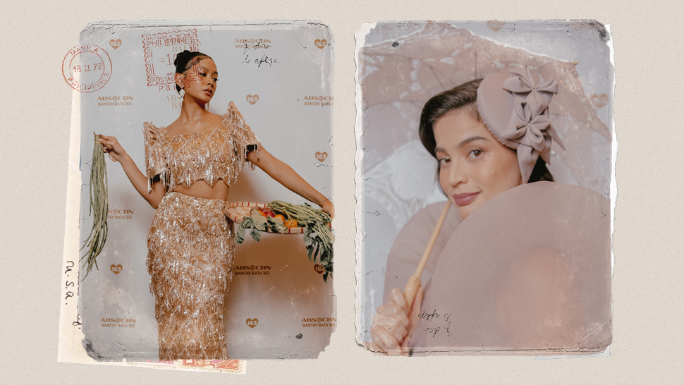 These Celebs Posed Like Old Filipino Paintings At The Abs-cbn Ball 2019