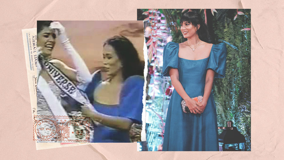 Isabelle Daza Actually Wore Gloria Diaz's Old Terno to the ABS-CBN Ball