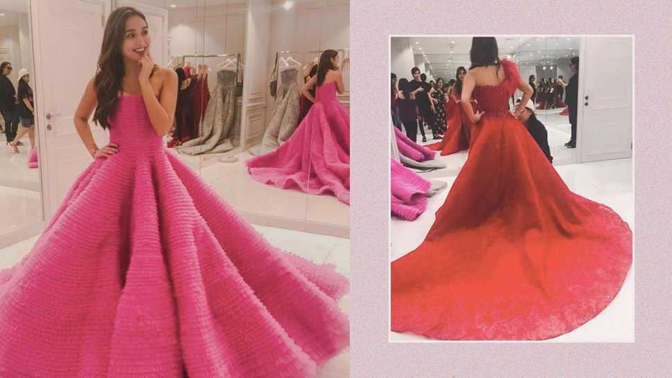 Kathryn Bernardo Decided Between a Red or Pink Dress for ABS-CBN Ball
