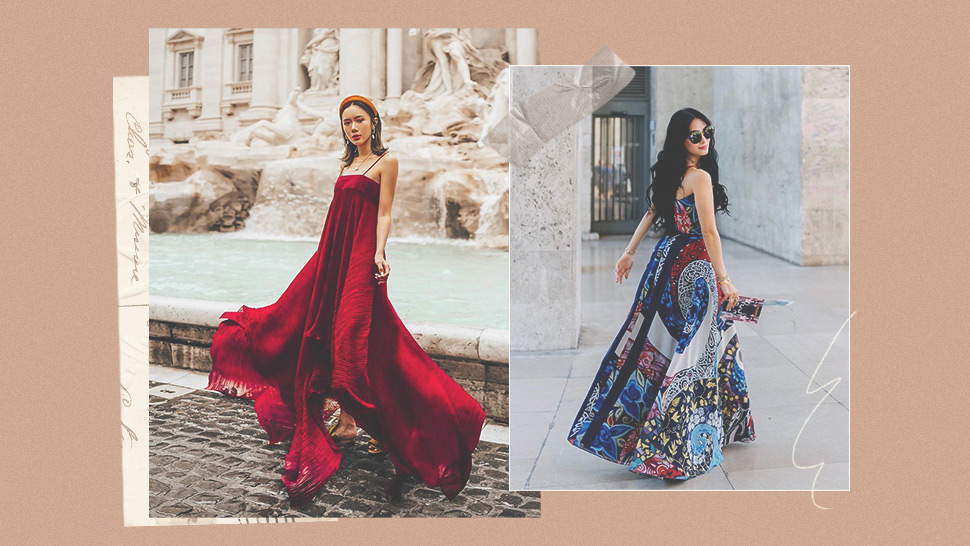 How To Wear A Maxi Dress Like A Street Style Star
