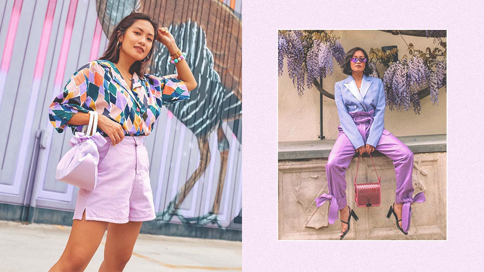 We're Loving Laureen Uy's Purple OOTDs