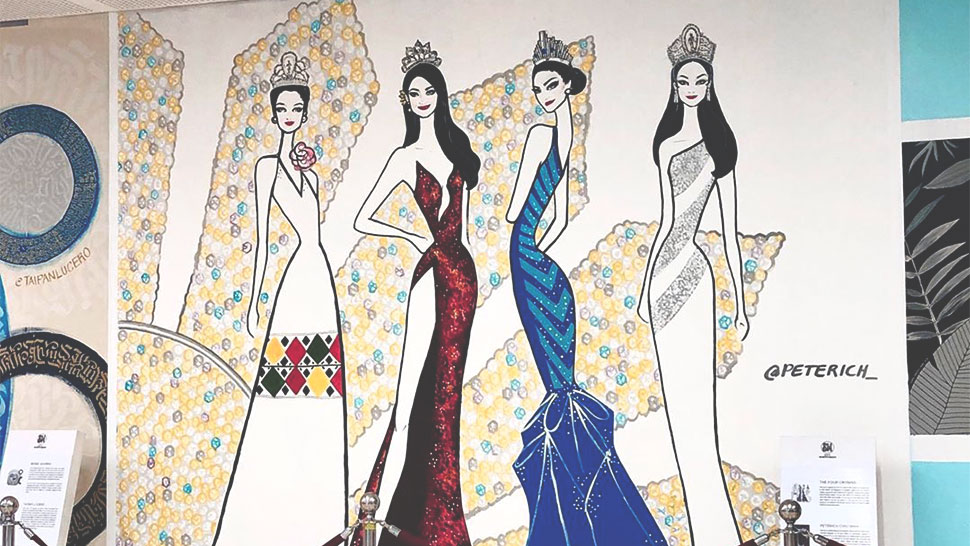 You Have To See This Amazing Miss Universe Mural