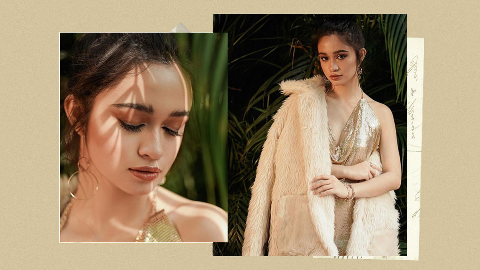 You Have To See The Golden Glam Of Angelina Cruz For Her Debut!