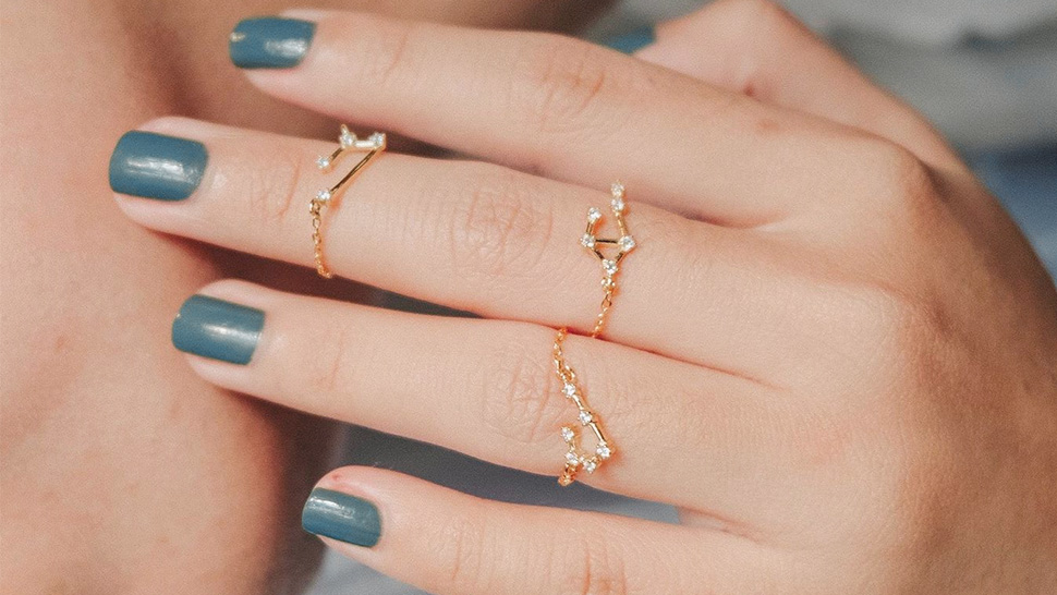 These Dainty Constellation Rings Are Perfect for Zodiac Lovers
