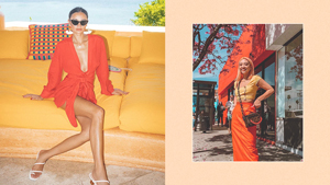 These Stylish Girls Will Convince You To Try The Neon Orange Trend