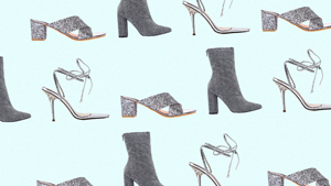 6 Fun And Easy Ways To Style Silver Heels