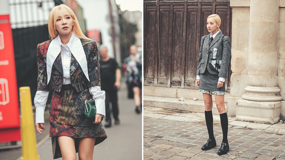 All The Chic Outfits Sandara Park Wore To Paris Fashion Week