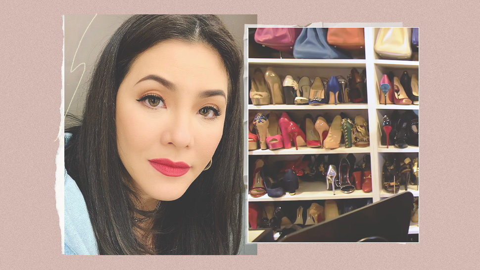 Watch Regine Velasquez Give You a Tour of Her Shoe Closet