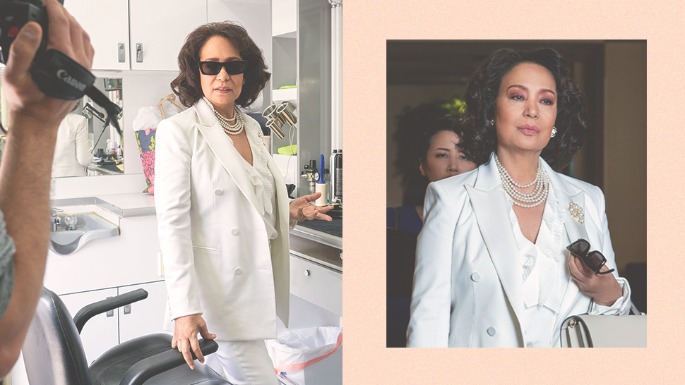 "You Have To Watch Gloria Diaz's Hilarious Set Tour For ""insatiable"""