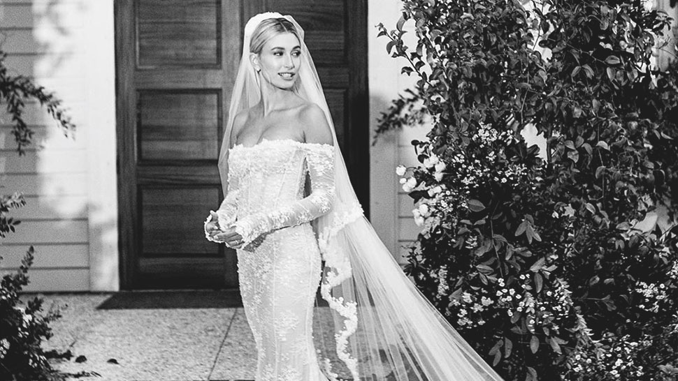 We Finally Know What Hailey Bieber's Wedding Gown Looks Like
