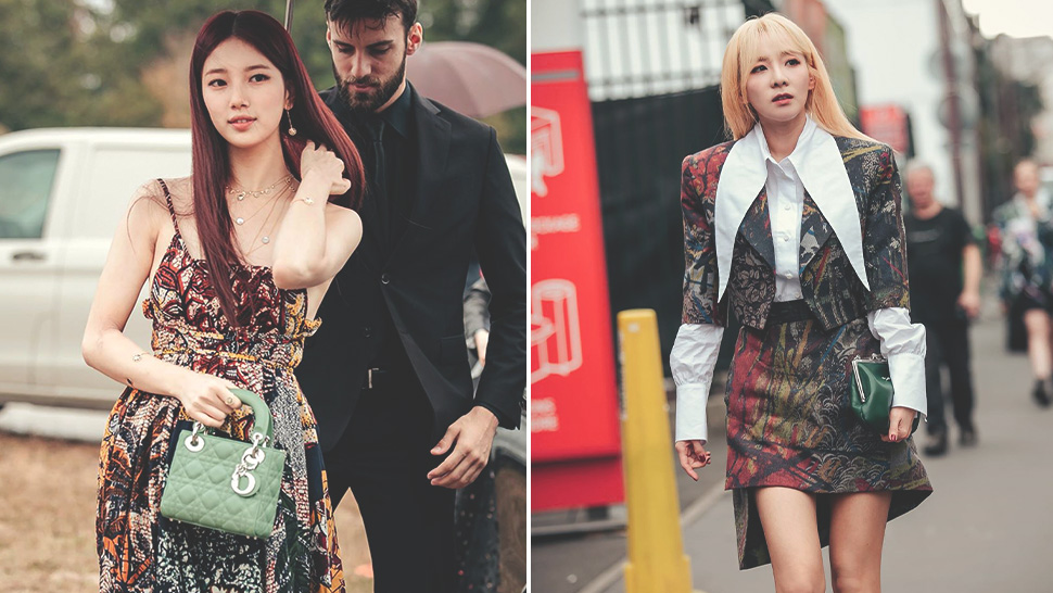 These Korean Stars Turned Heads At Paris Fashion Week Spring 2020