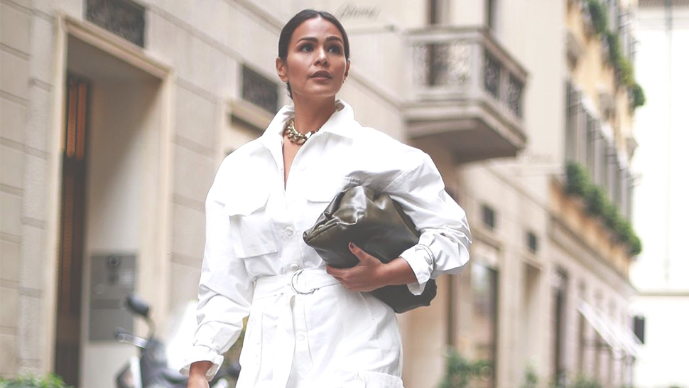 All of Iza Calzado-Wintle's Stylish OOTDs from Milan Fashion Week