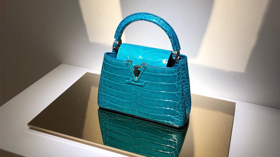 We Spent An Afternoon With These Louis Vuitton Exotic Skin Bags