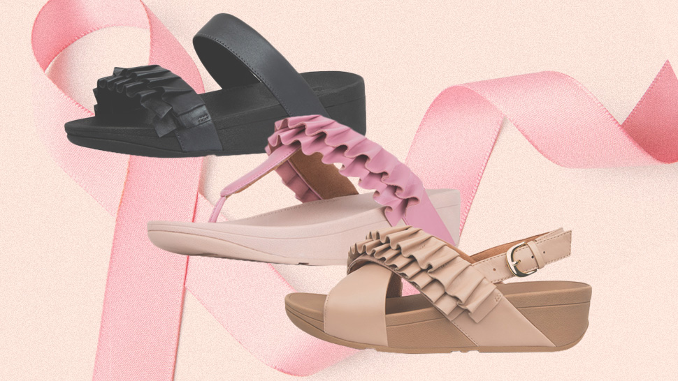 FitFlop Has Dropped A Collection For Breast Cancer Awareness Month