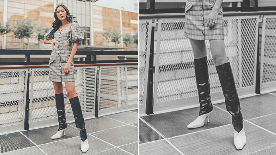 Camille Co Has A Chic, Easy Way To Style Knee-high Leather Boots