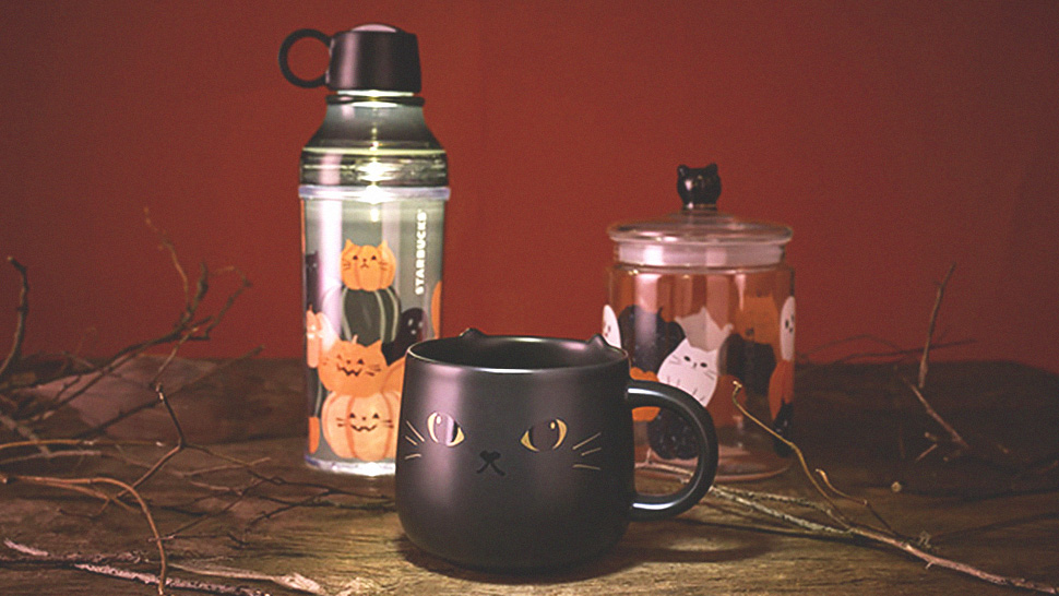 Starbucks' Spooky-cute Halloween Collection Is Finally Here