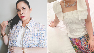 Jinkee Pacquiao Has A Dainty Way To Sport The Logomania Trend