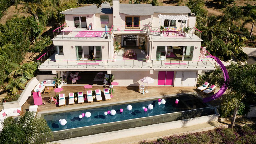 You Can Rent Barbie's Life-Sized Dreamhouse In Malibu, California