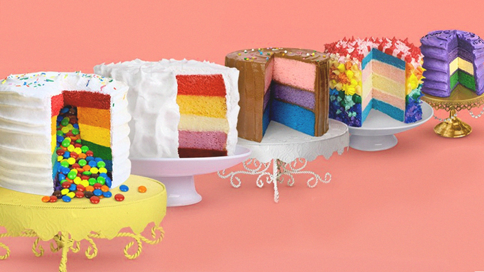 You Can Buy These Colorful Cakes to Celebrate National Coming Out Day