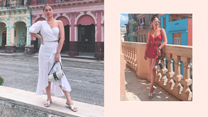 We Found The Vacation Outfits Maja Salvador Wore In Cuba
