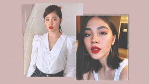 5 Ways To Wear Red Lipstick, According To Janella Salvador