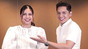 Maine Mendoza And Carlo Aquino Are Too Cute Playing Charades