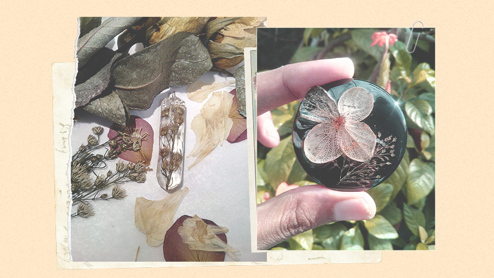 You'll Love These Dried Flower Resin Jewelry Pieces by a Davao-Based Brand