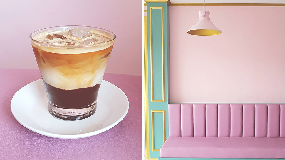 This Pretty Pink Cafe in Bulacan Was Inspired by a Wes Anderson Movie