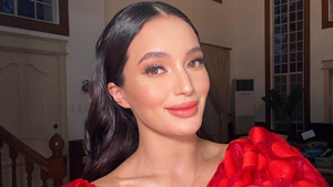 We're Obsessed With Sarah Lahbati's New Haircut With Bangs