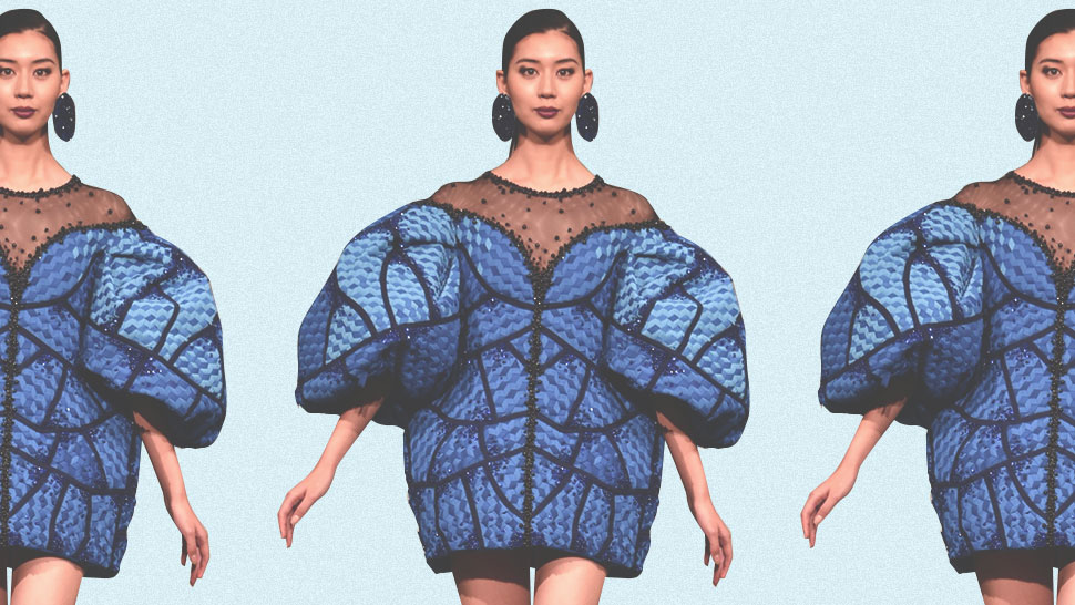 This Filipino Designer's Butterfly-inspired Creation Bagged Awards In Japan