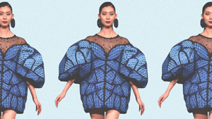 This Filipino Designer's Butterfly-inspired Creation Won Two Awards In Japan