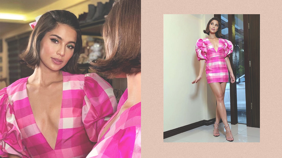 Jasmine Curtis Smith Was A Real-life Barbie Doll In This Ootd