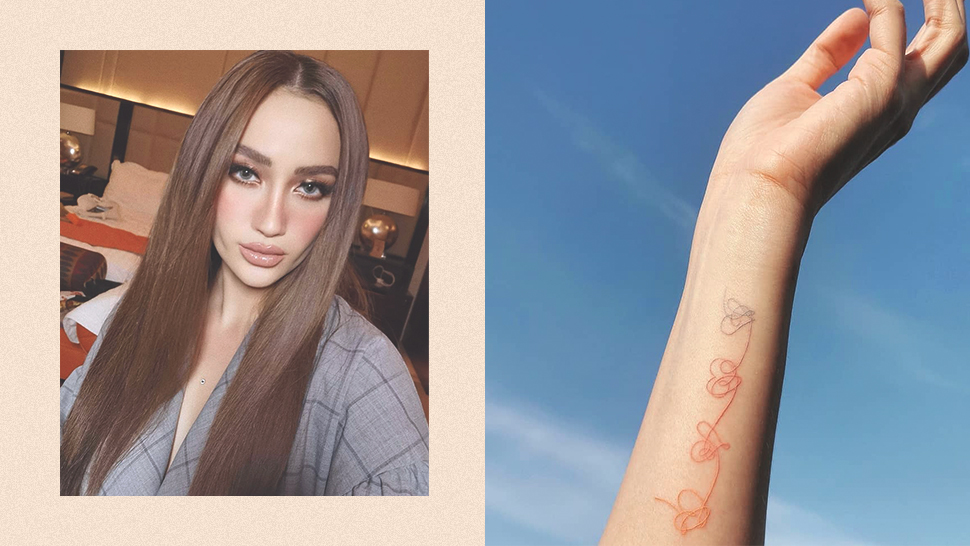 Arci Muñoz Just Got A Tattoo Dedicated To Bts