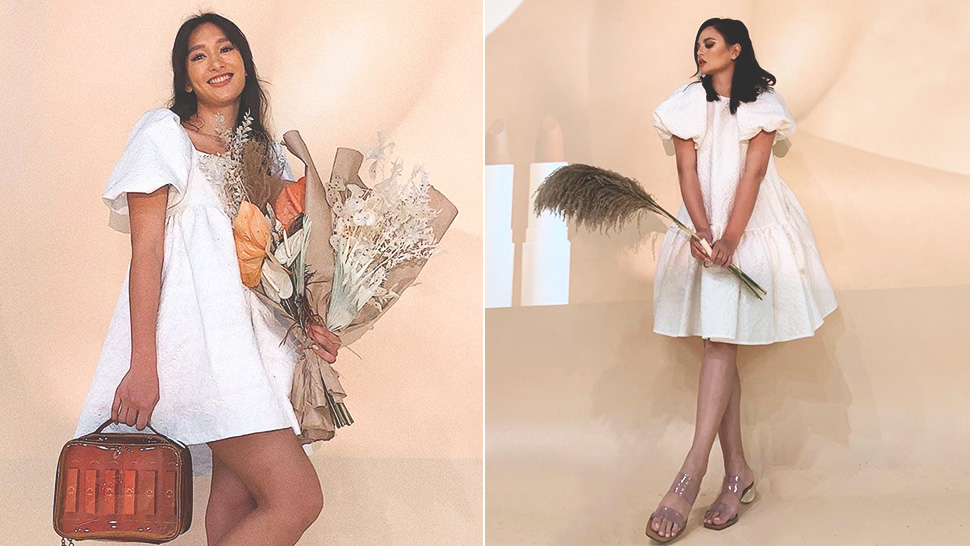 We Found The Exact Little White Dresses Georgina Wilson And Bea Soriano-dee Wore