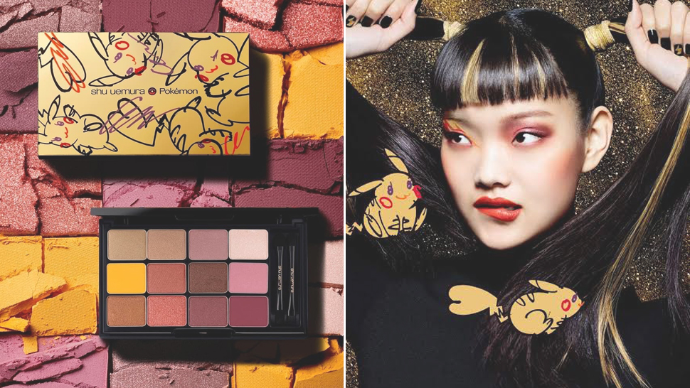 We Want Everything from Shu Uemura's Pikachu Makeup Collection