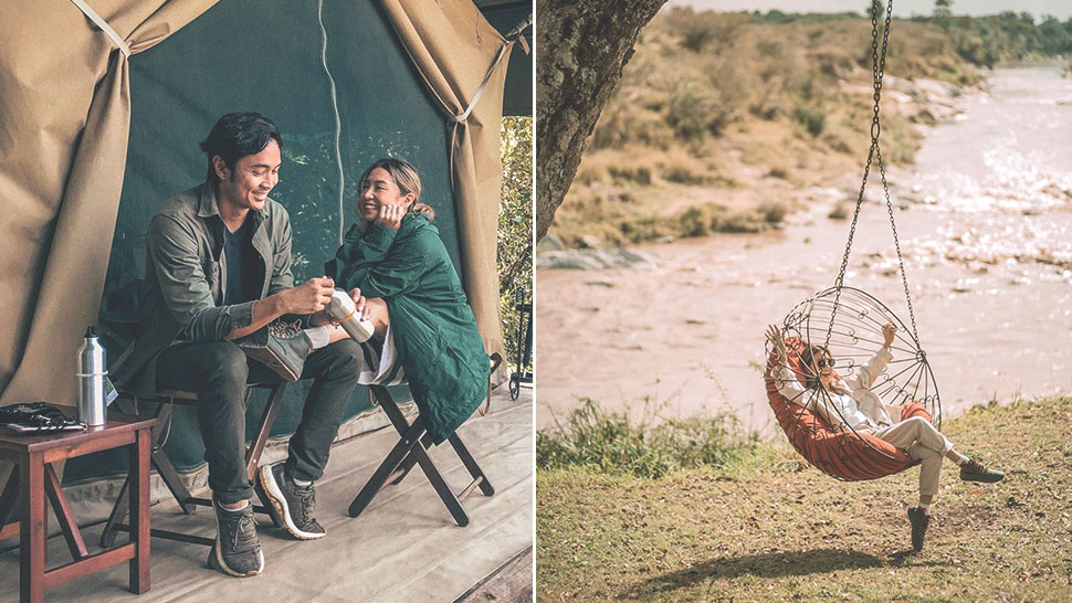 We Found The Exact Boots Kryz Uy Wore To Her Honeymoon Trip In Africa