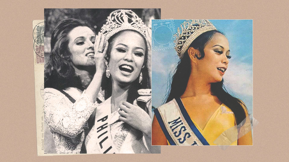 Gloria Diaz's Miss Universe Crowning Moment In 1969 Still Gives Us Goosebumps